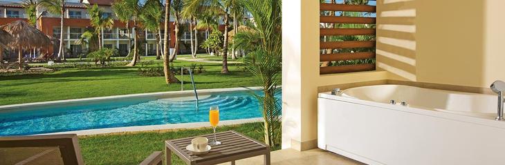 Instalaciones del Breathless Punta Cana, el hotel en el que Soria habría pagado 70 euros por noche