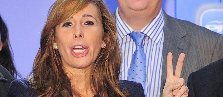Alicia Sánchez-Camacho fue espiada en un restaurante mientras comía con una colegui