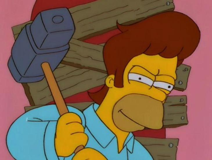 Transplante de almas en 'Los Simpson'