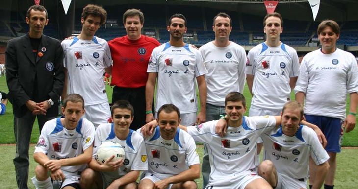 Plantilla del Paris Foot Gay en 2009