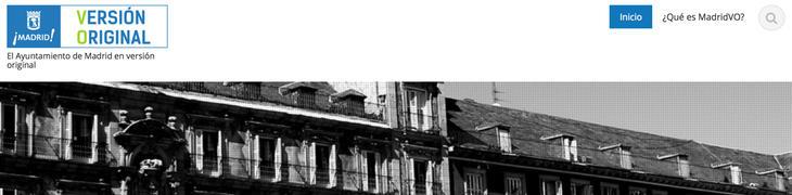 La web de MadridVO