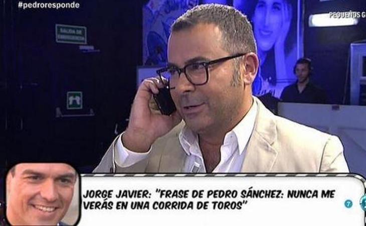 Pedro Sánzhez y JJ, de cotilleos en ´Salvame'
