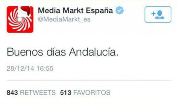 Media Markt y el tópico andaluz