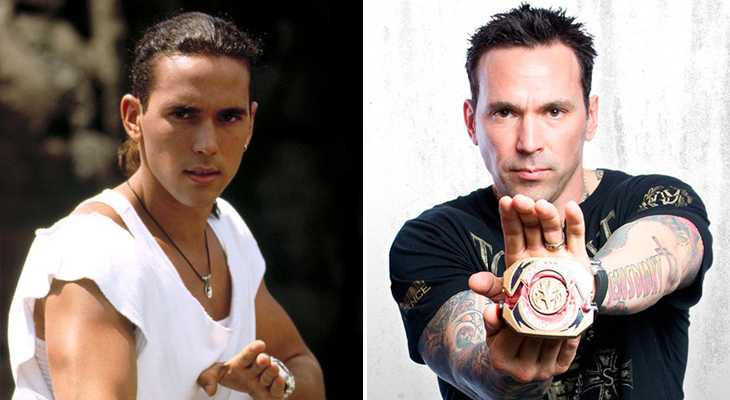 El Power Ranger Verde, Jason David Frank