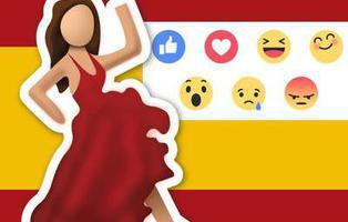 Llega \'Reactions\' a Facebook: expresiones muy españolas que echamos en falta