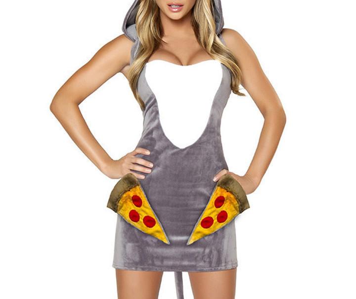 La rata que roba la pizza