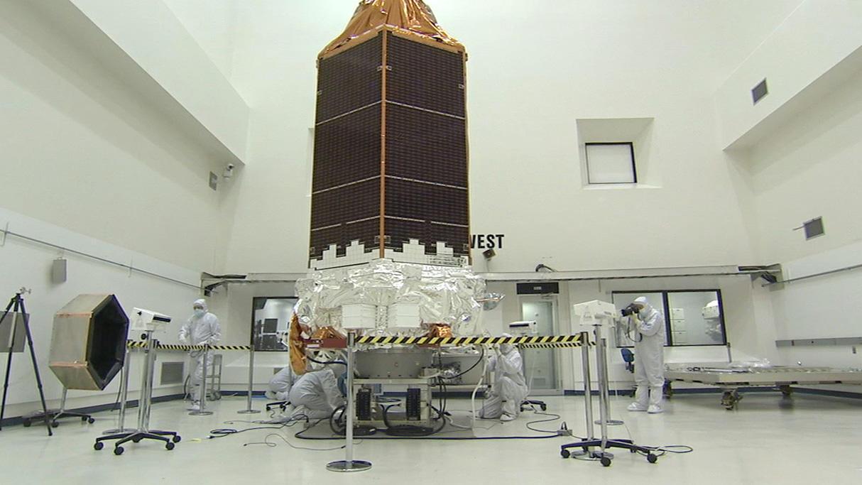 Telescopio Kepler antes de salir al espacio