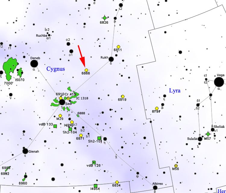 Detalle de la situación de KIC 8462852