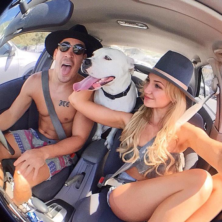 Gabrielle Epstein y Conner Malan, una pareja de guapos con gustos peculiares (Fuente: Instagram @connermalan)