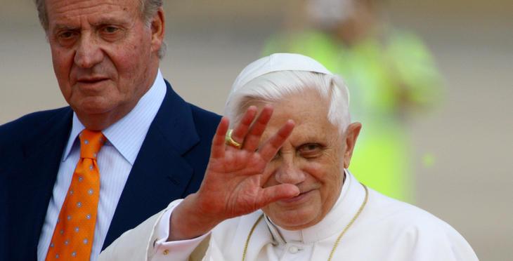 Mientras veías la visita del Papa a Valencia, estabas viendo corrupción