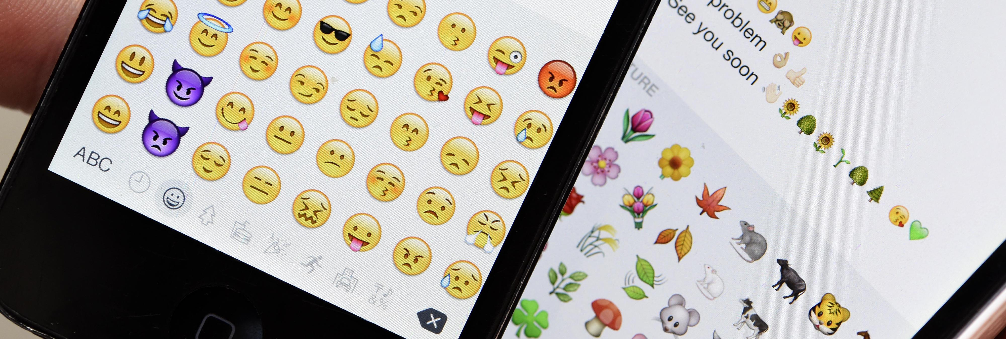 La peineta y los nuevos emojis de iOS 9.1