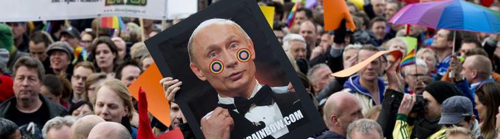 Los derechos humanos de homosexuales se violan en Rusia