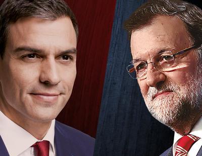 El PSOE lanza 'Pedro o Rajoy' anunciando el fracaso de Ciudadanos y Podemos