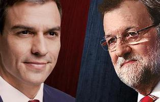 El PSOE lanza \'Pedro o Rajoy\' anunciando el fracaso de Ciudadanos y Podemos