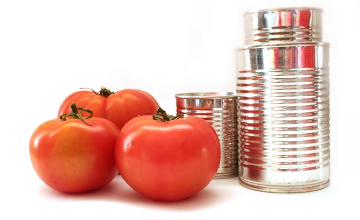 Los alimentos enlatados pueden ser cancerígenos