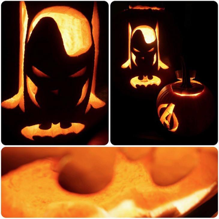 Tallar a Batman requiere un poco más de maña (Instagram: @katashotz)