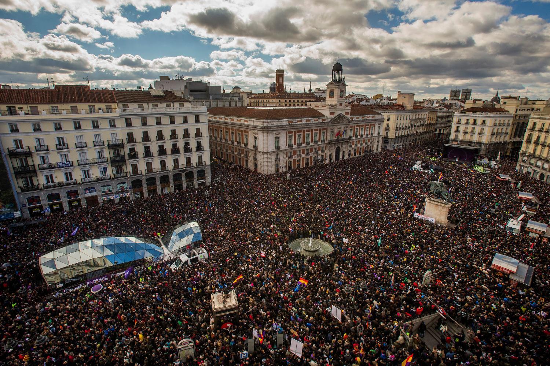 Marcha del cambio,31 de enero de 2015