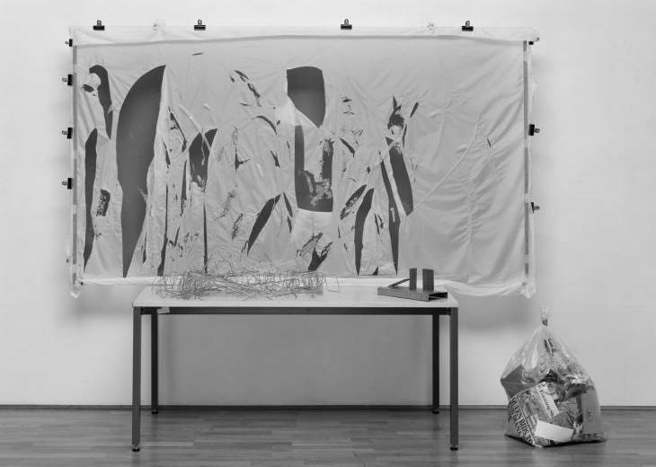 La obra 'Arte autodestructivo' de Gustav Metzger