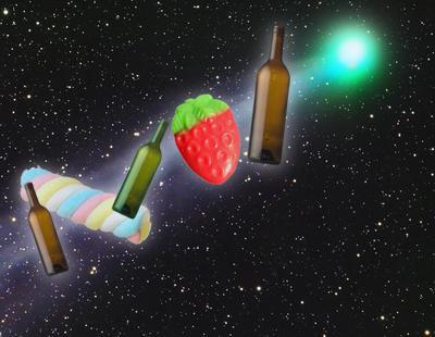 Detectan un cometa que emite azúcar y alcohol al espacio