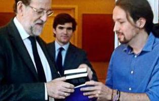 Los mejores memes de la reunión de Rajoy y Pablo Iglesias en Moncloa