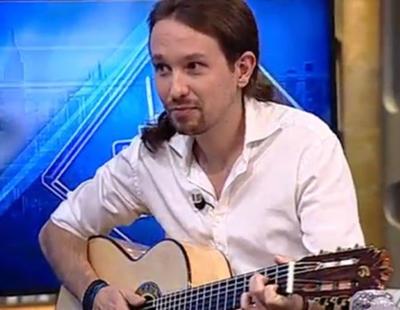 Pablo Iglesias canta y es censurado en 'El Hormiguero'