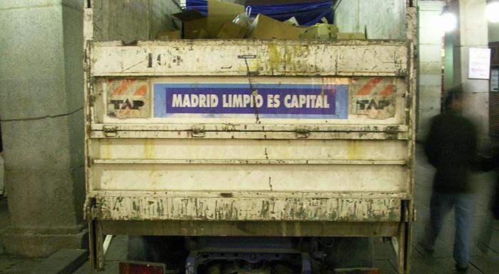 Camión de Madrid