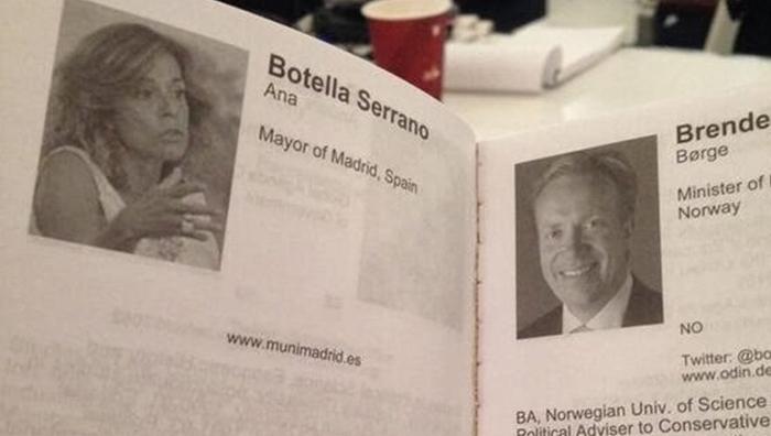 El CV de la alcaldesa