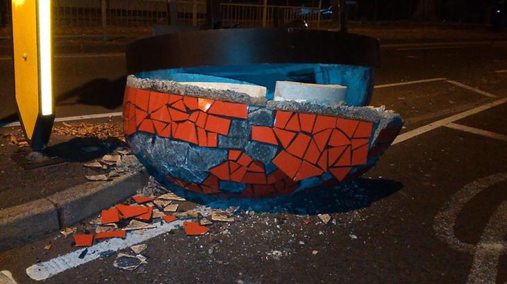 Obviamente, no podía tratarse de un meteorito (Facebook: Kingston Police)