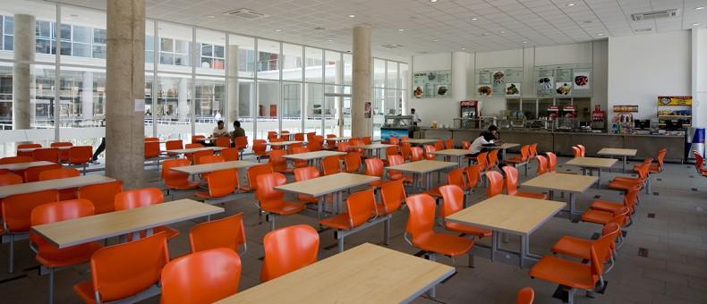 Cafetería de la universidad