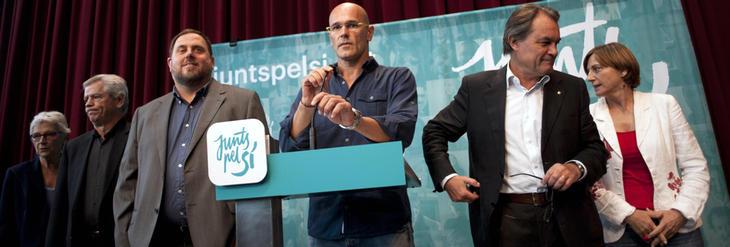 JxSí había previsto en su programa la hoja de ruta de la independencia catalana