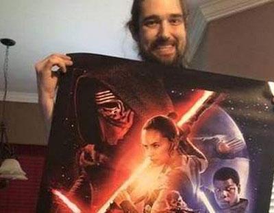 Muere el fan de 'Star Wars' que pudo ver el 'Episodio VII' como último deseo
