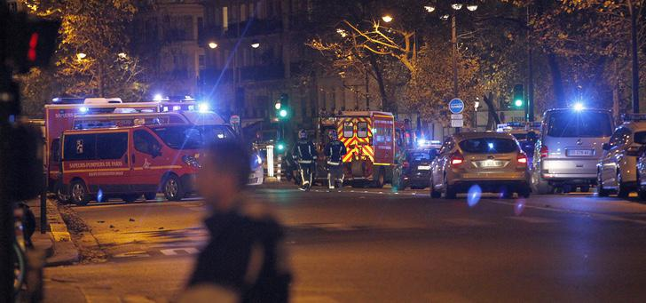 Atentados de París: servicios de emergencia atienden a los heridos