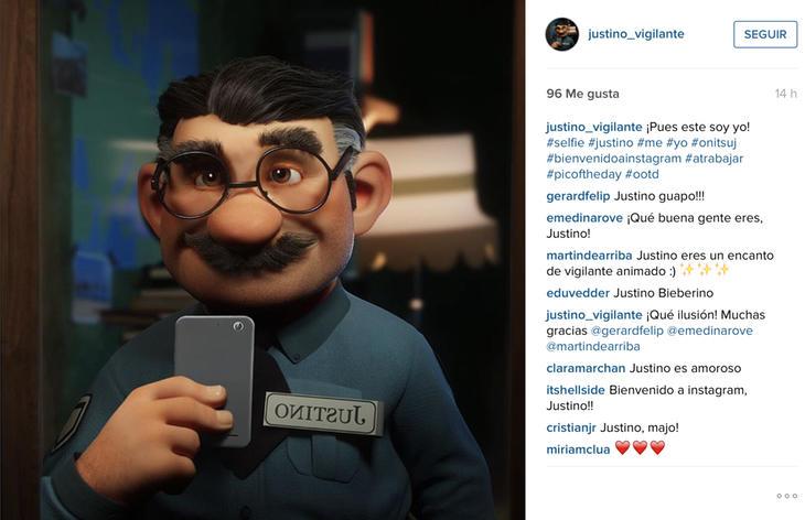 Justino estrena Instagram