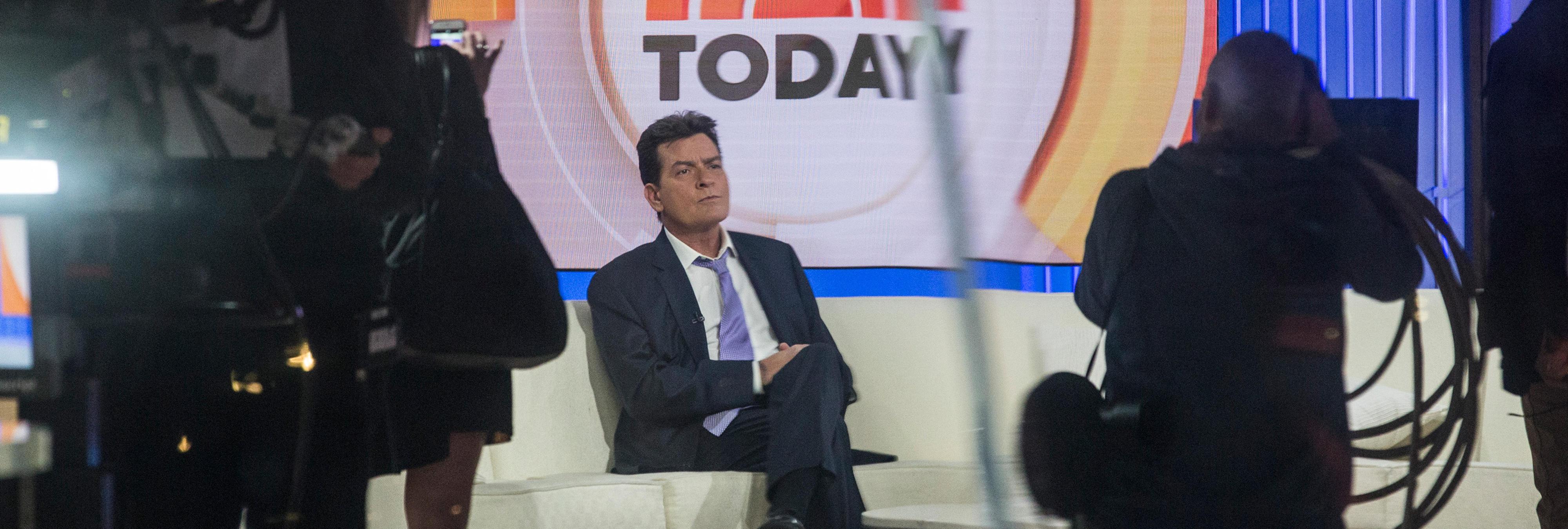 Charlie Sheen confiesa en directo que es VIH positivo