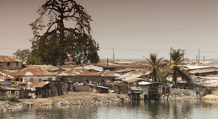 Por desgracia para sus habitantes, Liberia es muy rica en diamantes