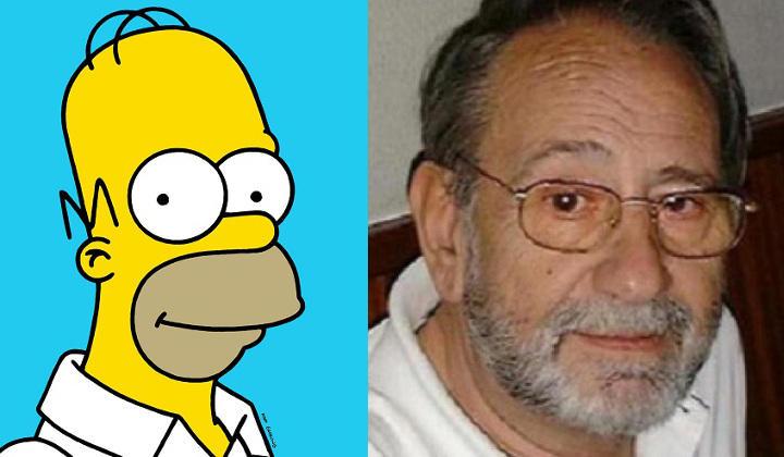 Carlos Revilla, fallecido en el 2000, fue el primer doblador de Homer Simpson