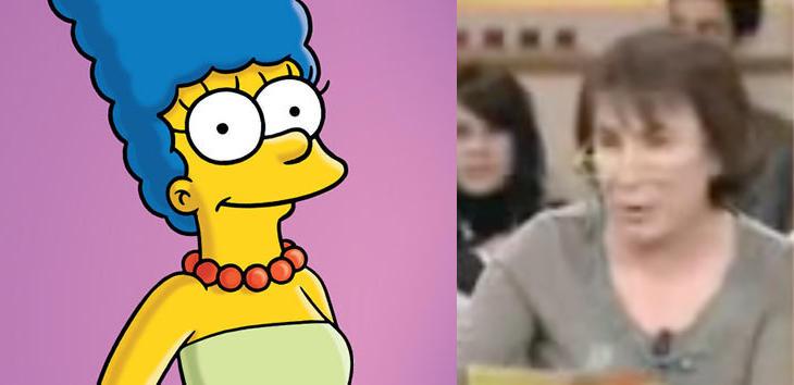 Margarita de Francia es Marge Simpson