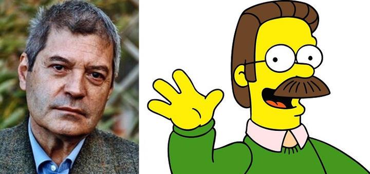 Carlos del Pino dobla a Ned Flanders