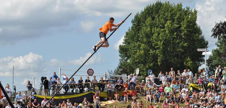 El récord del salto está en 21 metros