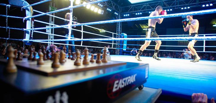 Mezcla perfecta de ajedrez y boxeo