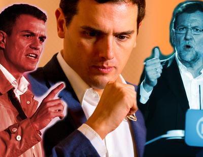 """Cuando todo da la vuelta: el PP contra Rivera por """"socialista"""""""
