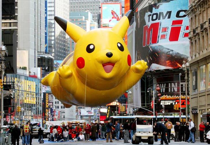 Pikachu se ha zampado el pavo