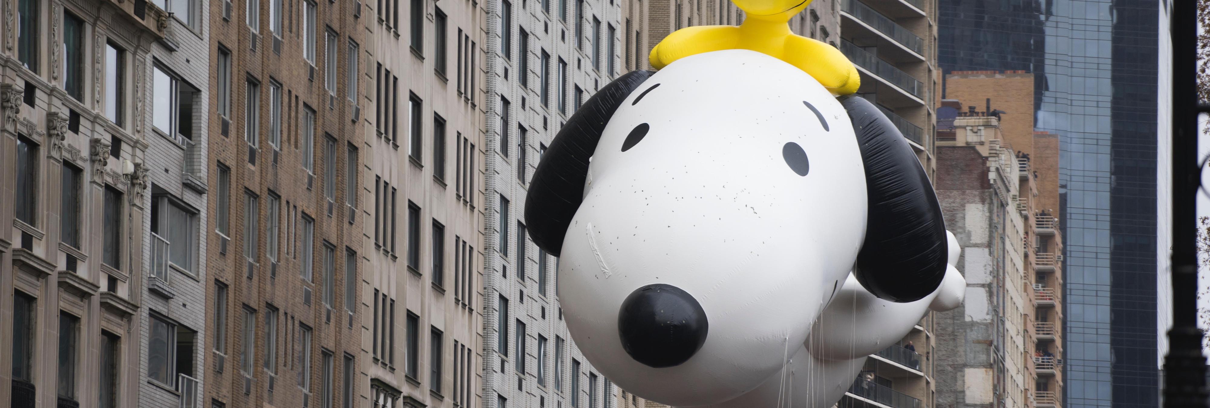 Los globos del desfile de Acción de Gracias más molones