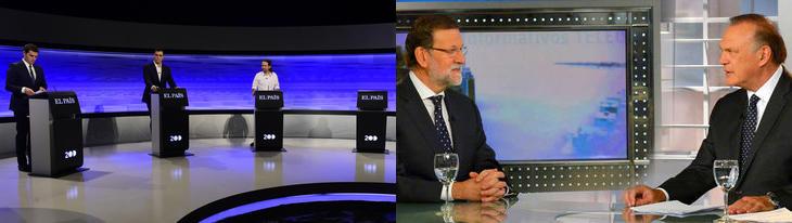 Rajoy no asistió al debate de El País pero sí a una entrevista en Telecinco