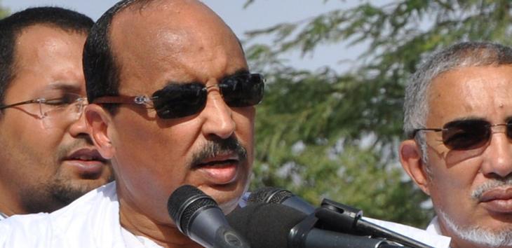 El presidente de Mauritania,Mohamed Ould Abdel Aziz