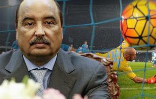El presidente de Mauritania finaliza un partido porque se aburría