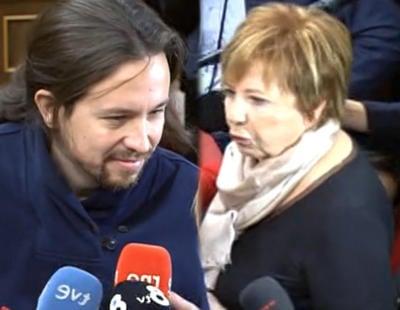 """Celia Villalobos: """"Pablo Iglesias no me escupió porque había mucha gente delante"""""""