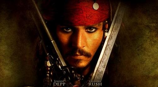 Jack Sparrow es el personaje más conocido de Johnny Depp