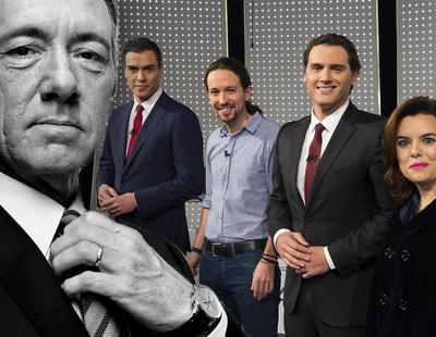 Así comentó Frank Underwood el debate entre los políticos españoles