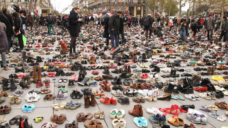 Zapatos para apoyar la Cumbre del Clima
